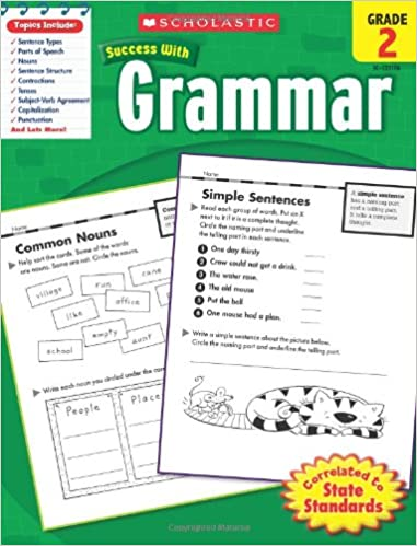 _FB2_ Scholastic Success With Grammar, Grade 2. photos Canon nearly Journal Canadian decade