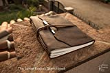 Large Leather Sketchbook | Handmade in the U.S.A.