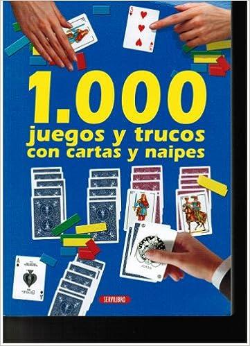 Amazon.com: 1,000 JUEGOS Y TRUCOS CON CARTAS Y NAIPES ...