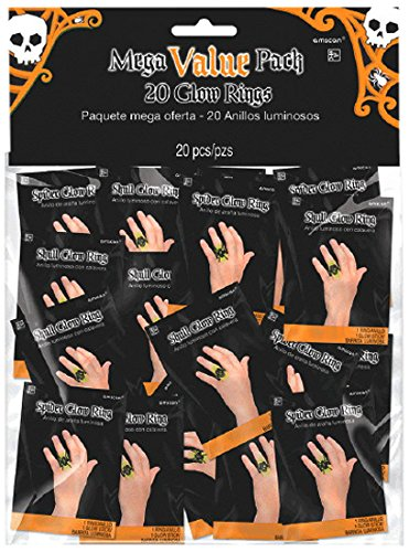 Amscan (Amsdd Childrens-Pretend-Play-Jewelry-Rings