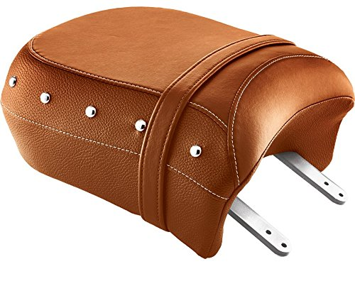GENUINE TAN LEATHER HEATED PASSENGER SEAT BY INDIAN MOTORCYCLE 2880734-06