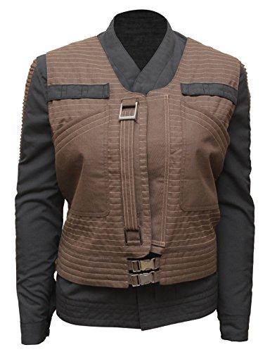 Jyn Erso Cosplay Ideas Star Wars Rogue One Jacket and Vest For Womens (Star Wars Cosplay Ideas)