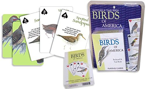 The Ace Card Company Birds Playing Cards (Set of 2)