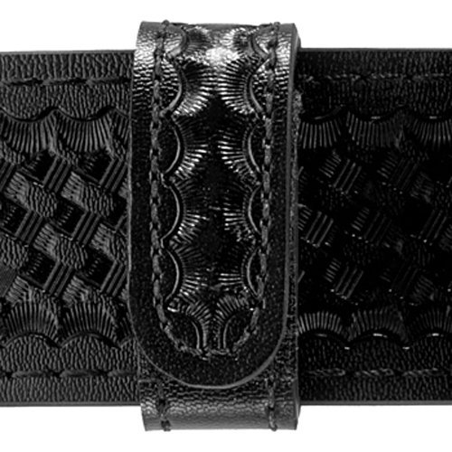 Safariland Duty Gear Hidden Snap Belt Keeper (4-PK) (Basketweave Black) by Safariland Duty Gear - Belt Keeper 2.25