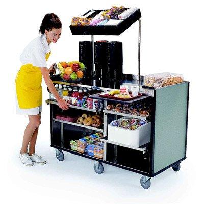 Kiosk Cart - Mobile Stainless Steel Kiosk
