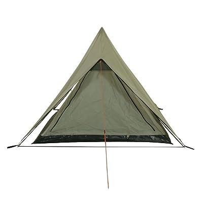 10T Poneto 2 Tente de randonnée 2 personnes Gris 220 x 140 x 110 cm