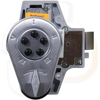 Kaba Simplex 900 Series Metal Mechanical Pushbutton