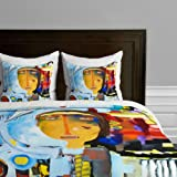 DENY Designs Robin Faye Gates 3rd Period Science Duvet Cover, Twin/Twin XL