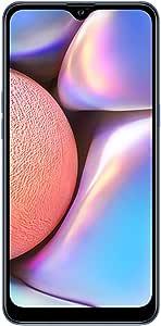 "Samsung Galaxy A10s with Fingerprint (32GB, 2GB RAM) 6.2"", Android 9.0, Dual SIM GSM Factory Unlocked A107M/DS - US + Global 4G LTE International Model (Blue, 32GB + 64GB SD Bundle)"