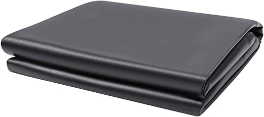Boshen Heavy Duty Fitted Leatherette Pool Table Cover - Best Waterproof Cover