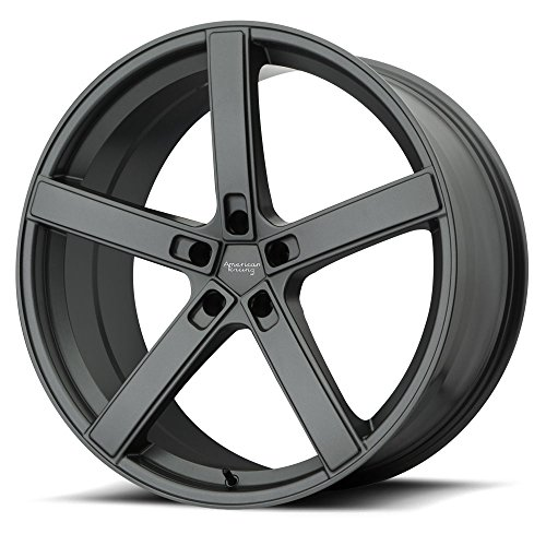 American Racing AR920 Blockhead Wheel Rim Charcoal Gray 20×9 5×120 20mm