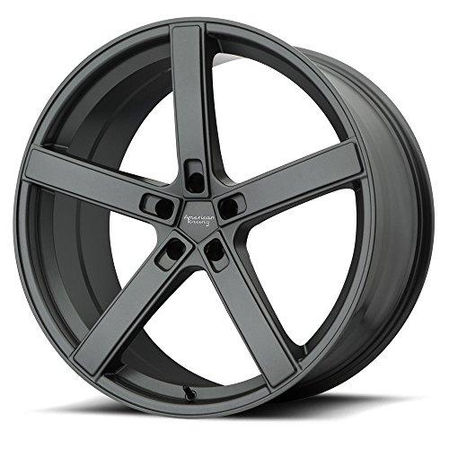 American Racing AR920 Blockhead Wheel Rim Charcoal Gray 20×9 5×120 20mm
