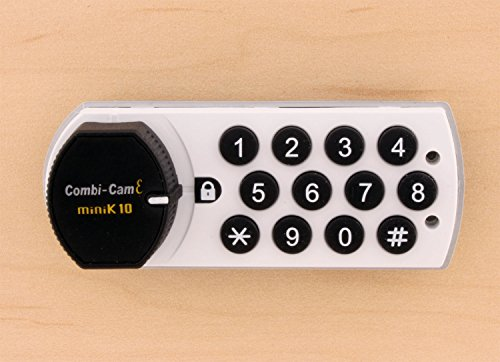FJM Security Products 7910-K10-HRH-WHT Combi Cam E Electronic Cabinet Lock, White by FJM Security (Image #4)