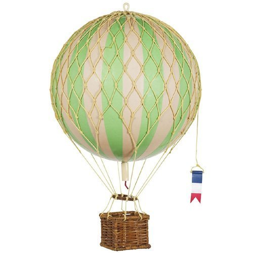 Authentic Models Light Hot Air Balloon in True Green ()