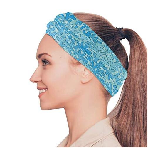 Aqua Blue Coral Face Mask UV Sun Mask Dust Wind Neck Gaiter Magic Bandana Women Men |