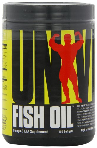 Universal Nutrition Fish Oil, 100 (Universal Oil)