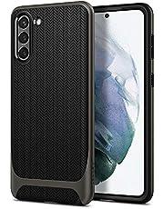 Spigen Neo Hybrid hoesje Compatibel met Galaxy S21 -Gunmetal