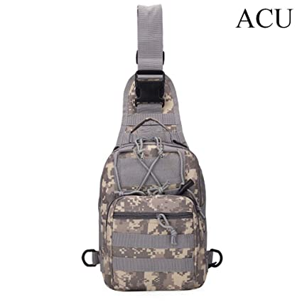 Sports & Entertainment Climbing Bags Military Tactical Chest Pack Fly Equipment Nylon Wading Chest Pack Cross Body Sling Single Shoulder Bag