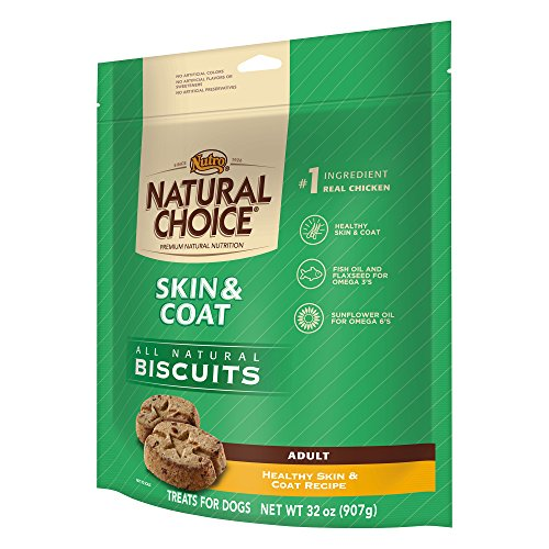 NATURAL CHOICE Skin and Coat Adult Biscuits Healthy Skin and Coat Recipe - 32 oz. (907 g) Healthy Skin Shiny Coat