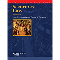 Securities Law, 5th (Concepts and Insights Series)