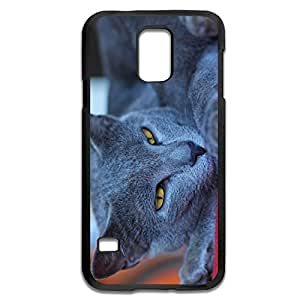 Samsung Galaxy S5 Cases Cat Design Hard Back Cover Cases Desgined By RRG2G