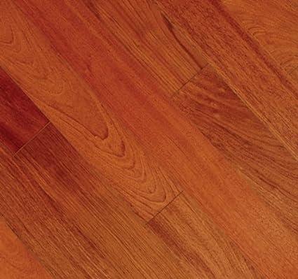 5 Inch Solid Hardwood Pacific Mahogany Natural Flooring 6 Sample
