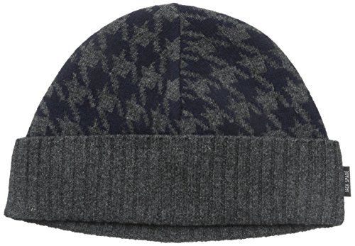Jack Spade Men's Beacon Houndstooth Hat, Navy, One Size