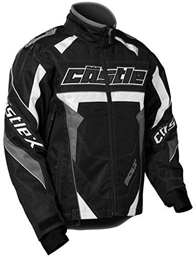 Castle X Bolt G4 Mens Snowmobile Jacket Black 2XL