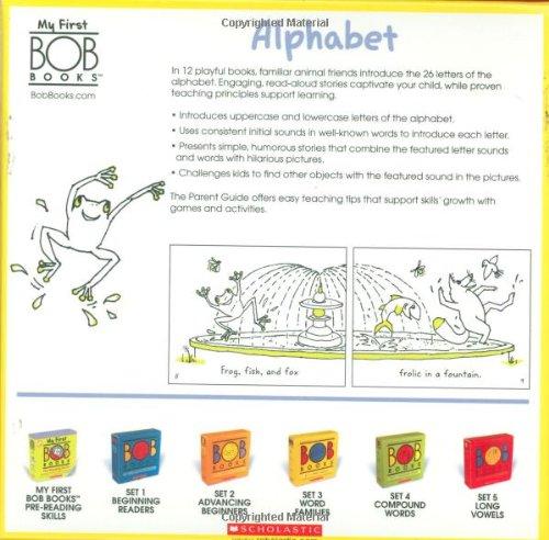 Amazon.com: My First BOB Books: Alphabet (8601419655755): Lynn ...