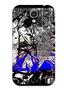 PRJZigs898oRryq Tpu Phone Case With Fashionable Look For Galaxy S4 - Artistic