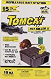 198883 Tomcat Rat Killer II Refillable Bait Station , 15 Refills