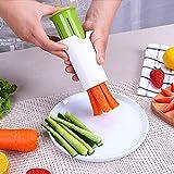 m·kvfa Kitchen Cucumber Divider Carrot Strawberry Slicer Splitter Gadget Cutter Petal Cutters Gadget Cutting Tool For Kitchen Dining Bar
