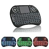 EEEKit Backlight Mini 2.4G Wireless Keyboard w/ Touchpad Mouse for Raspberry Pi 2 3,Xbox 360,Kodi Box,PC,Pad, Android/Google TV Box,PS3,HTPC/IPTV etc