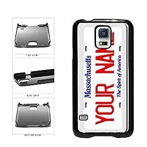diy phone casePersonalized Custom Massachusetts License Plate Plastic Phone Case Back Cover Samsung Galaxy S5 I9600diy phone case