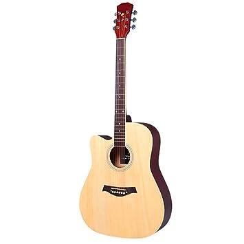 KJUHVBF Guitarra 41 \ELM Cerrado Perilla Borde de Color, Adecuado ...