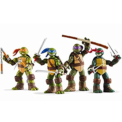 Ninja Turtles 4 PSC Set - Teenage Mutant Ninja Turtles TMNT Action Figures