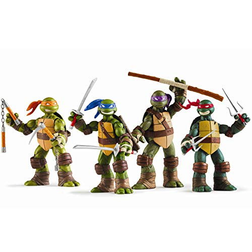 Ninja Turtles 4 PSC Set - Teenage Mutant Ninja Turtles TMNT Action Figures