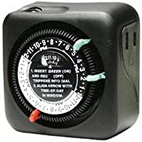 Intermatic TN111RM40 Timer, Lamp & Small Appliance-Black