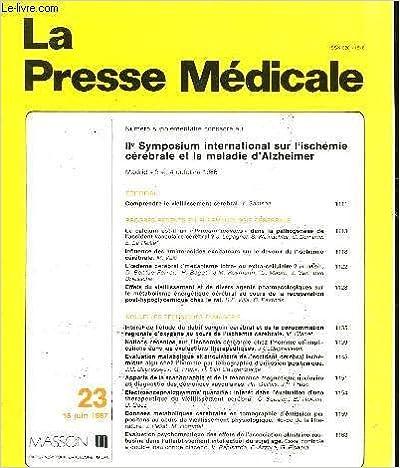 Ebook gratuit à télécharger pour pdf La presse medicale - n°23 in French