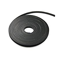 HICTOP 5 Meters GT2 2mm pitch 6mm wide Timing Belt for 3D printer CNC from HIC Technology