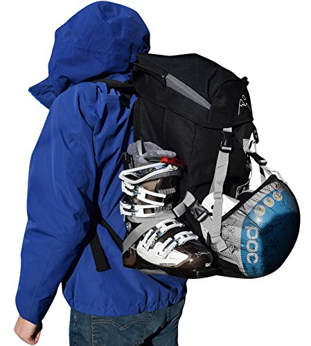 Mt Sun Gear Ski Boot Pack Boot Bag by BootYo! The perfect bag to carry ski and snowboard boots and all your gear!
