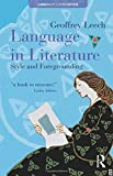 Language of Literature, Geoffrey Leech, 0582051096