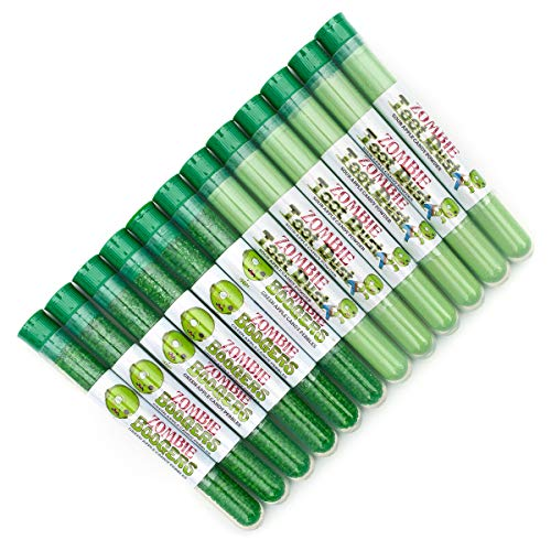 Zombie Fun 12-Pack | Zombie Boogers & Toot Dust | Allergen Free! | Made In The USA by Sweets Indeed