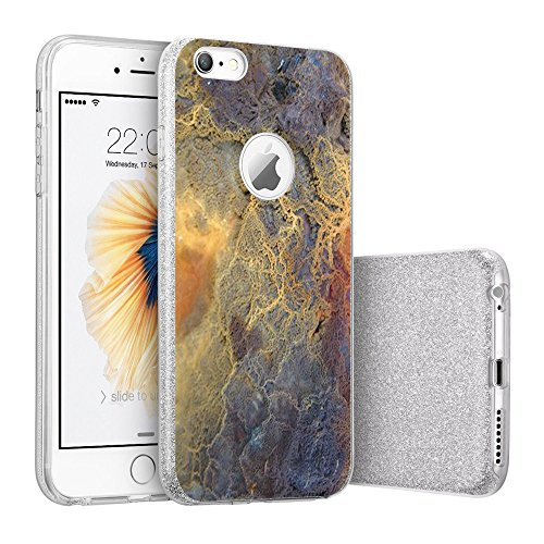 Price comparison product image Beryerbi iPhone 6 / 6s Case Ultra Thin Interesting Design Clear Soft TPU Protective Cover (5,  iPhone 6 / 6s)