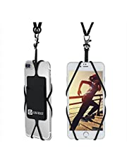 Cell Phone Lanyard Neck Strap, Gear Beast Universal Smartphone Case Holder Necklace with Card Pocket