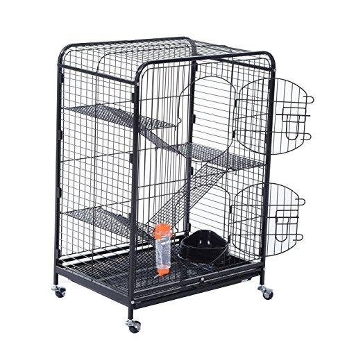 Pawhut Level Indoor Hutch Animal