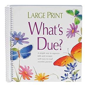 Whats Due Organizer Book