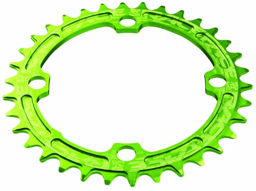 Single Face Green (Race Face 104mm Single Chain Ring, Green, 32T 9/10/11 Speed)
