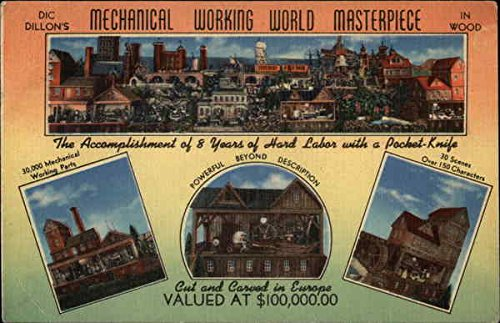dic-dillons-mechanical-working-world-masterpiece-in-wood-east-liverpool-ohio-original-vintage-postca