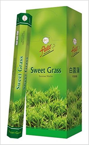 - Flute Sweet Grass Incense Sticks 20 Sticks/Tube, 6 Tubes/Box Price is for The Box